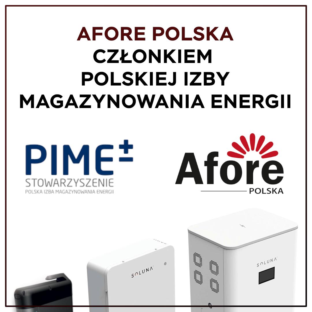 Afore Polska członkiem PIME